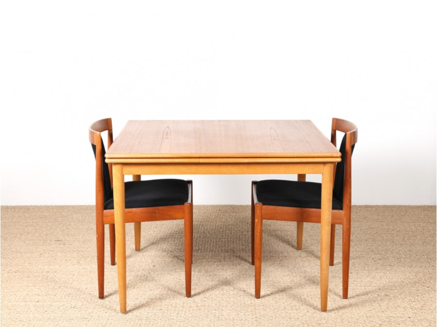Table rabattable cuisine paris table carree scandinave - Table a manger rabattable ...