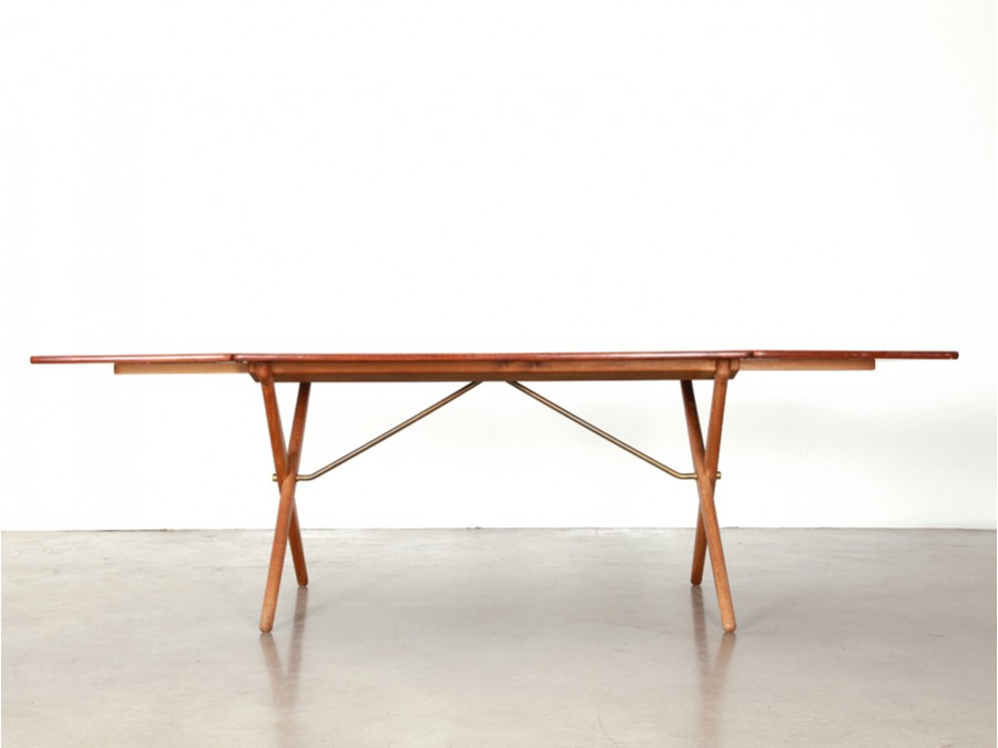 Scandinavian dining table in teak model at 309 galerie for Table scandinave en teck