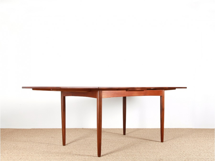 Table manger scandinave en teck galerie m bler for Table a manger en teck