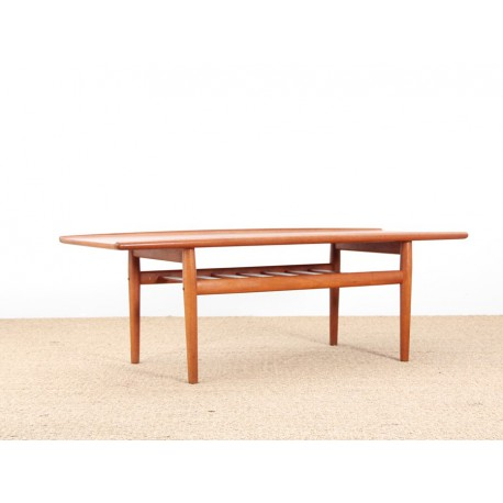 Table basse scandinave en teck galerie m bler - Table basse scandinave vintage ...