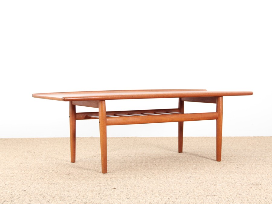 Table basse scandinave en teck galerie m bler for Table scandinave en teck