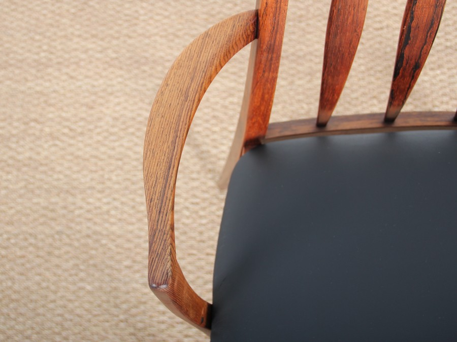 rio rosewood leather - Modele Fauteuille Palissandre