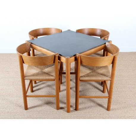 Set Of Dining Table And 4 Chairs Model Fh4216 Fh4226