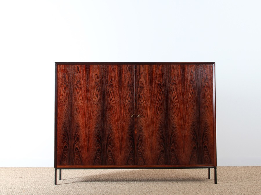 buffet console scandinave en palissandre de rio galerie m bler. Black Bedroom Furniture Sets. Home Design Ideas