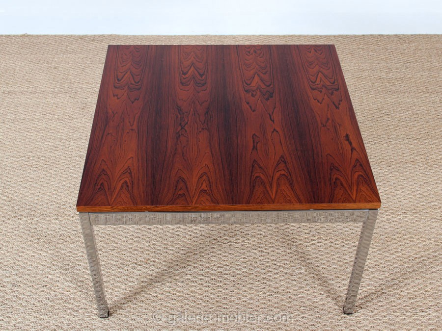 Table basse carree zen palissandre - Table basse palissandre ...