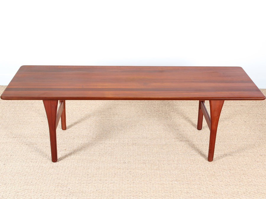 Table basse scandinave teck for Table basse scandinave but