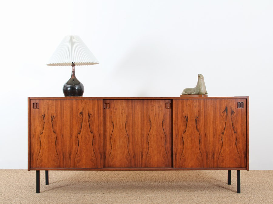 Scandinavian sideboard in rio rosewood galerie m bler for Sideboard scandi