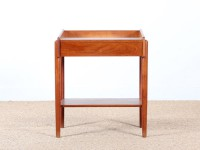 table de chevet scandinave en teck de Borge Mogensen
