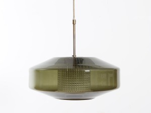 Danis modern ceiling lamp in glass by Carl Fagerlund