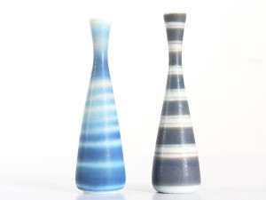 Pair of small vases by Gunar Nylund