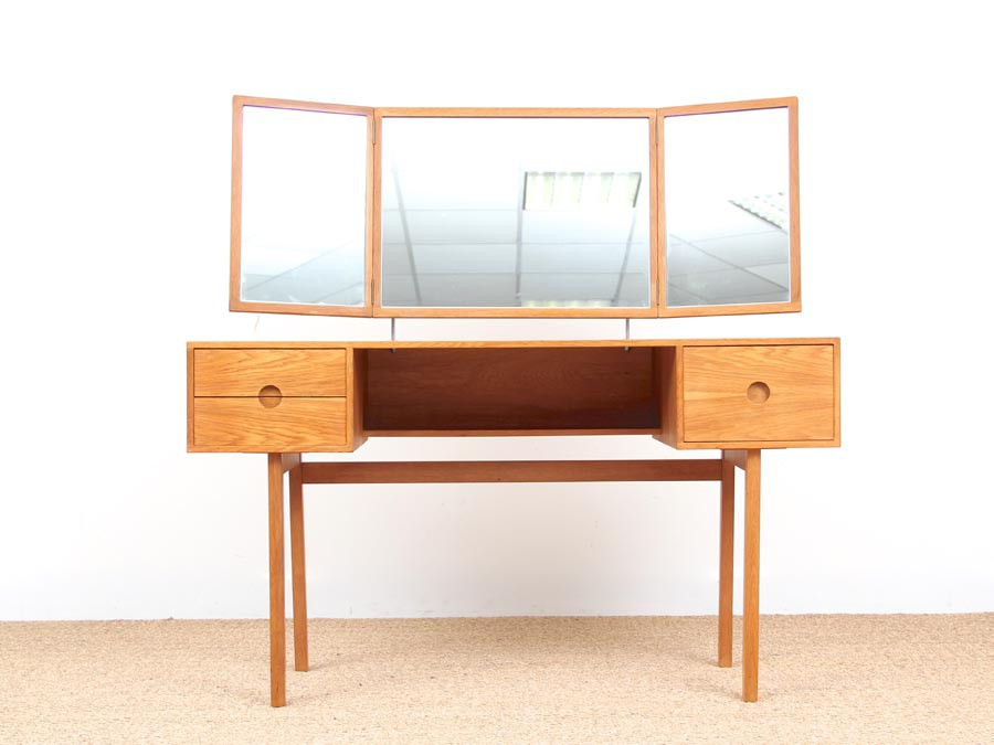 Danish Mid Century Modern Dressing Table By Kai Kristiansen