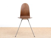 Tongue chair in oak by Arne Jacobsen, , new releases.