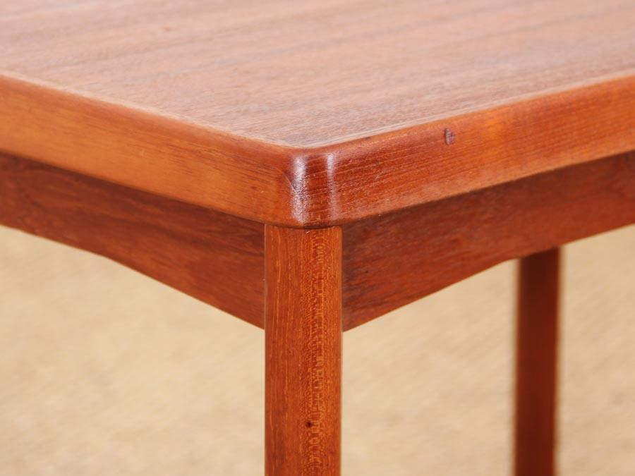 Danish Mid Century Modern Side Table In Teck By Henning