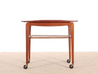 Scandinavian occasional table in Rio rosewood, designed by Johannes Andersen