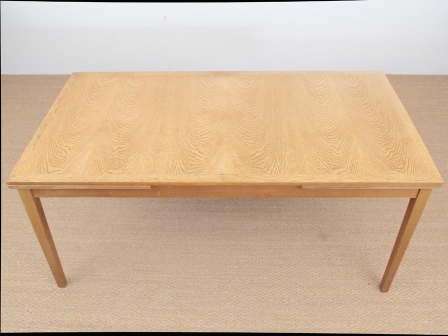 Danish Mid Century Modern Extendable Dining Table In Oak By Kai Winding Galerie Mobler