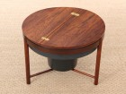 Bar coffe table in Rio palissander by Rolf Rastad and Adolf Relling