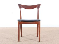 Set of 4 scandinavian chairs in teak designed by Henry Walter Klein