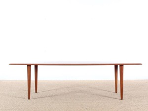 Mid-Century Modern scandinavian coffee table in teak model fd 516 by Hvidt & Mølgaard Nielsen