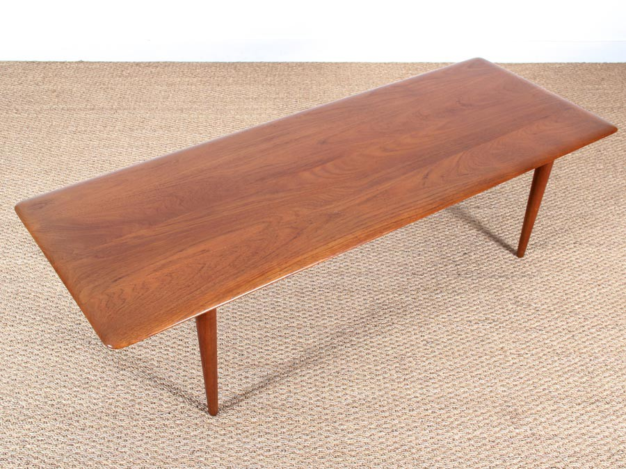 Mid-Century Modern scandinavian coffee table in teak model ...