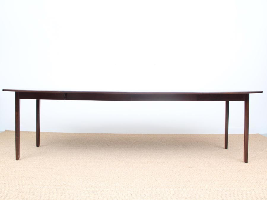 Danish Modern Extending Dining Table For 12 Seats By Ole Wanscher Galerie Mobler