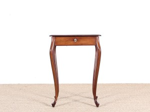 Danish travailleuse or work-table in mahogany by Frits Henningsen