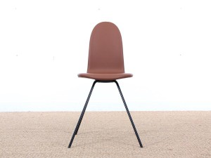 Tongue chair in dark oak by Arne Jacobsen, new releases.
