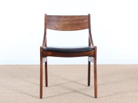 Set of 6 scandinavian chairs in rosewood by  H. Vestervig Eriksen