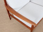 Danish modern 3 seats sofa in teak model PJ56/3