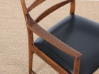 Mid-Century Modern scandinavian pair of armchairs in Rio rosewood by Tøbjorn Afdal, Model 113 A