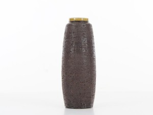 Mid-Century Modern ceramic vase by Gunnar Nylund for Nymolle