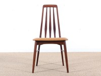 Mid-Century Modern Danish set of 6 chairs in Rio rosewood model Eva by Niels Kofoed