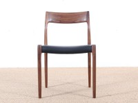 Mid-Century Modern danish chair in teak model 77 by Niels O. Møller