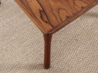 Mid-Century  modern  coffee table in Rio rosewood model Colorado by Folke Ohlsson.