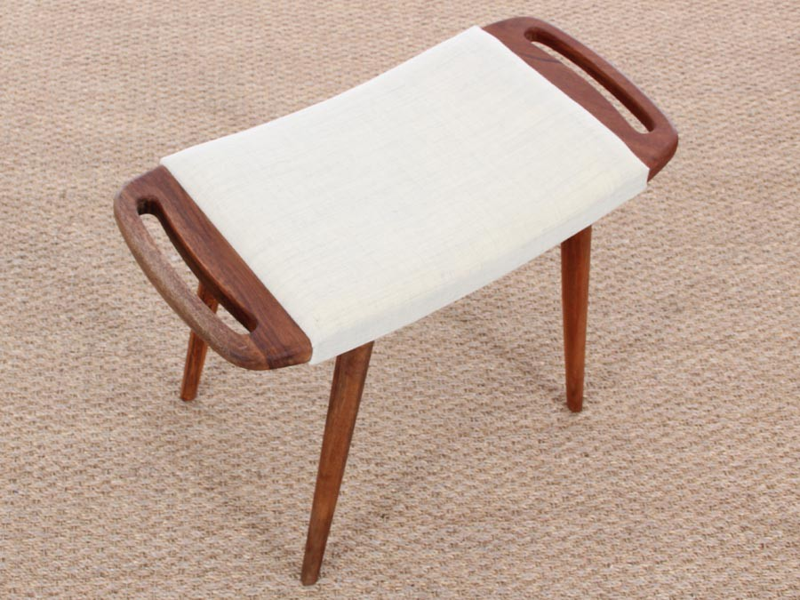 Danish Modern Stool With Handles New Release 9 Colors Galerie M 248 Bler