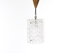 Mid century modern ceiling light by Carl Fagerlund model Cristal design