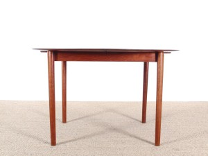 Danish mid-century modern dining table in solid teak  model 311