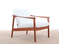 Mid-Century danish lounge chair in teak model Colorado by Folke Ohlsson