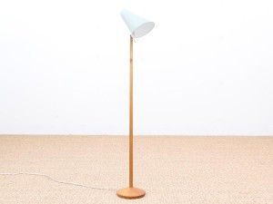 Mid-Century  modern  small floor lamp by Uno & Osten Kristiansson for Luxus