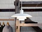 Mid-Century  modern scandinavian pendant lamp PH 4/3 by Poul Henningsen for Louis Poulsen