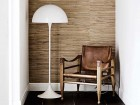 Mid-Century  modern scandinavian floor lamp Panthella by Poul Henningsen for Louis Poulsen