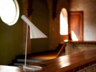 Mid-Century  modern scandinavian table lamp AJ by Arne Jacobsen for Louis Poulsen.
