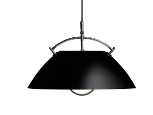 Mid-Century  modern scandinavian pendant lamp L037 by Hans Wegner, with cable lift.