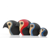 Discus familly bird by Hans Bølling. New realese.