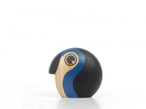 Small Discus blue bird by Hans Bølling. New realese.