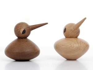 Bird Chubby in oak or smoked oak by Kristian Vedel for Architectmade. New realese.