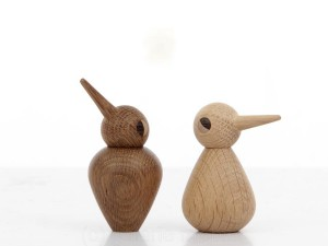 Bird Small in oak or smoked oak by Kristian Vedel for Architectmade. New realese.