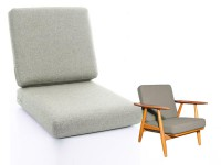 Set of cushions for Hans Wegner lounge chair Getama  Cigar GE 240 - foam and cover- seat and back