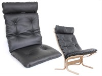 Set of cushions for Ingmar Relling Siesta chair low back   -foam and cover- seat and back