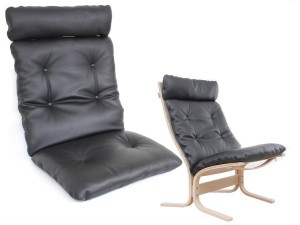 Set of cushions for Ingmar Relling Siesta chair high back   - foam and cover- seat, back and neck