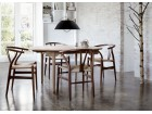 Mid-Century Modern CH 24 Wishbone chair by Hans Wegner. New product.